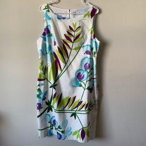 Marimekko for Anthropologie floral mini dress